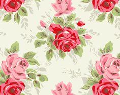Black And White Floral Print Wallpaper Wallpaper