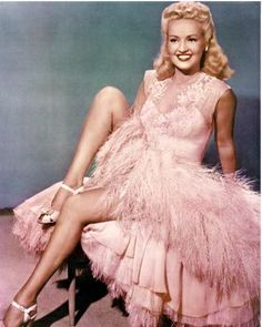 Betty Grable In Pink