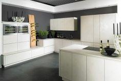 Ceramistone keukenblad in harmonie met keramische fronten - Kemie