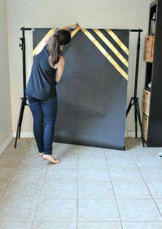 DIY Photo Backdrop