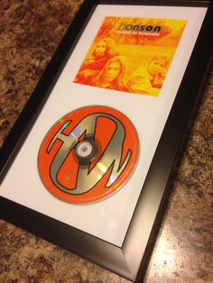 Got this awesome cd display frame from @michaelsstores on Black Friday for my #Hanson Middle of Nowhere cd! The first album I ever bought when I was 10! #hansonmerchandise