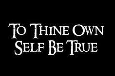 Sayings; Self worth