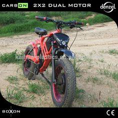 Source 48V 750W 2x2 dual drive fat tire BOXON -carbon fiber ebike on m.alibaba.com