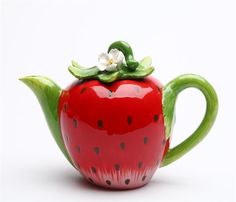 Strawberry Teapot makes tea drinking fun
