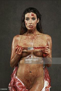 Home Brand Halloween Female Sexy Horror Bloody Nurse Costume Cosplay