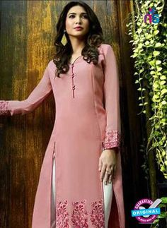 7d52c45fe SC 42780 Pink Party Wear Kurtis Online Shopping from Newshop.in.   partywearkurtisonlineshopping