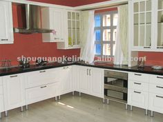 cabinets on silver legs