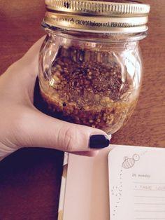 Let's prepare for #Winter! Bee Deli by #norasdesk❄ 120g pollen  6g propolis  250g honey   #delicious <3 Tutto fatto in casa