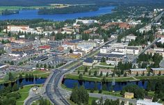 Iisalmi is a city located in eastern Finland