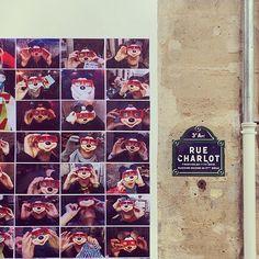 Rue Charlot in Paris, Île-de-France