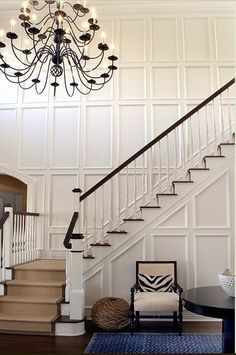 PANELED STAIRCASE