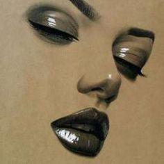 Pencil Art, Pencil Drawings, Art Drawings, People Drawings, Charcoal Drawings, Frida Art, Chicano Art, Realistic Drawings, Face Art