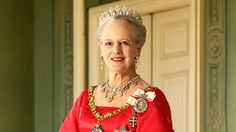 """Today, Queen Margrethe II of Denmark celebrates her 73rd birthday. In keeping with tradition, thousands of Danes will gather in front of the Queen's residence, Amalienborg Palace, to wave Danish flags. At midday the Queen and her family step out onto the balcony and receive a big """"HURRA"""" from the Danish people. Congratulations!"""