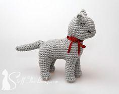 Sandy The Cat Amigurumi by StuffTheBody
