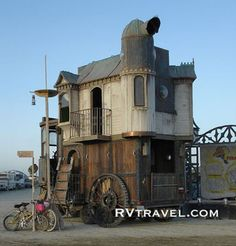 traveling show? peddlers wagon? i dont know what it is but i like it :)