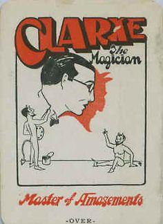 Clark the Magician throwing card