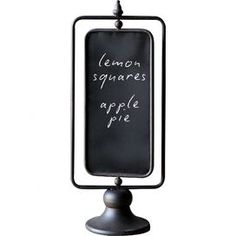 Laura 2-Sided Chalkboard Stand