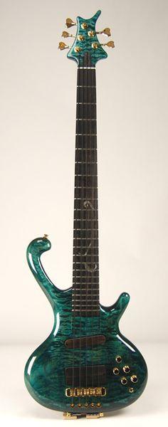 Ritter – Classic Five String Bass Guitar – Turquoise Ocean Finish Guitar Sketch, Guitar Drawing, Unique Guitars, Custom Guitars, Learn Guitar Online, Custom Bass, Guitar Stand, Guitar For Beginners, Guitar Tips