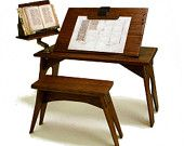 Medieval Scribe Table