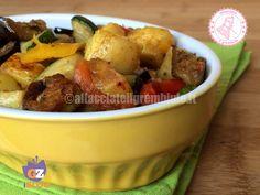 il contorno di verdure miste è facile e veloce da preparare, molto colorato e invitante riuscirà a far adorare le verdure anche ai bambini.