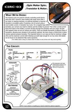 Experimenter's guide for arduino