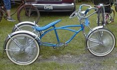 Home-built custom bicycles at the Louisiana Bicycle Festival for vintage and custom bicycles in Abita Springs