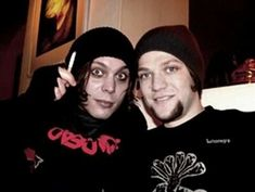 Bam Margera With Ville Valo
