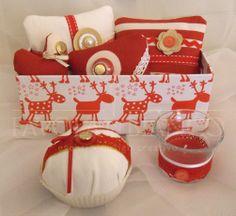 candeline e composizioni natalizie