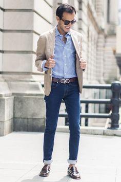 preppyornotpreppy:  recklessgentleman:  The Summer Gentleman  Very nice!  www.styleclassandmore.tumblr.com