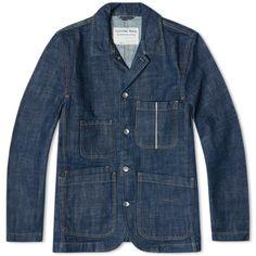 Universal Works Bakers Chore Jacket (Indigo)