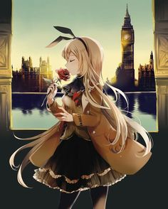 London anime girl princess