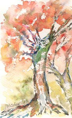 Maria Cristina De Amicis- watercolor