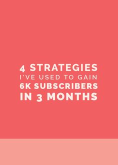 We've greatly increased our mailing list subscribers with 4 easy strategies. New today!