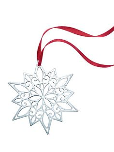 Tiffany & Co. Sterling Silver Snow Flake* | Tiffany & Co ...