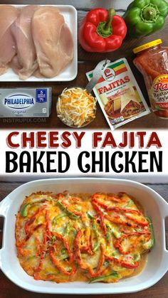 Low Carb Recipes, Cooking Recipes, Healthy Recipes, Dinner Dishes, Food Dishes, Mexican Food Recipes, Dinner Recipes, Fajita Recipe, Healthy Food Options
