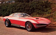 """Cosma-Ray Custom 1964 Corvette by Darryl Starbird, used in the TV Special """"The Wonderful World of Wheels"""""""