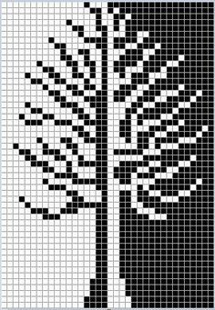 Knitting Charts Tree Fair Isles 37 Ideas For 2019 Mosaic Knitting, Intarsia Knitting, Knitting Charts, Knitting Stitches, Knitting Patterns, Free Knitting, Knitting Projects, Tapestry Crochet Patterns, Bead Loom Patterns
