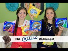 The Oreo challenge!  So funny!  #brooklynandbailey #oreo #challenge