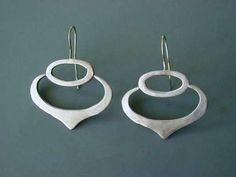 Shield Earring, Julia Britell