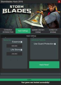 Stormblades Hack Tool