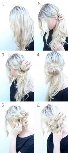 There aren't many stylish hairstyles for girls that can match the class of a messy bun hairstyle. In fact, this single hairstyle comes in a lot of amazing variations that every year we have a new look trending and seen at every party and special event. So, if you are interested in something classy, try […] The post Top Messy Bun Hairstyles For Short, Long And Medium Hair To Rock This Year appeared first on Mr.Kids Hairstyles. Easy Messy Hairstyles, Updo Hairstyles Tutorials, Easy Updo Hairstyles, Trendy Hairstyles, Wedding Hairstyles, Hair Tutorials, Makeup Tutorials, Wedding Updo, Updos