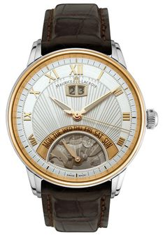 Maurice Lacroix Mens Jours Retrograde Watch | Raddest Men's Fashion Looks On The Internet: http://www.raddestlooks.org