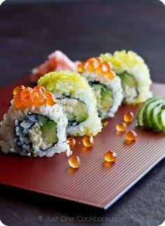 California Roll Recipe   Easy Japanese Recipes at JustOneCookbook.com