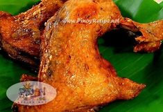 Filipino Fried Chicken Recipe is a deep fried chicken dish with a filipino touch and the preparation is fast and easy. It is a tasty fried chicken without the breading! Filipino Fried Chicken Recipe, Fried Chicken Recipes, Roast Recipes, Crockpot Recipes, Cooking Recipes, Filipino Dishes, Filipino Recipes, Asian Recipes, Filipino Food