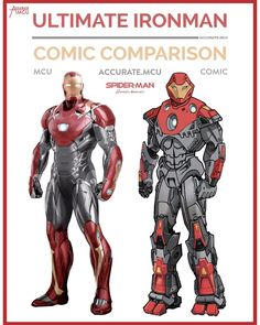 """12k Likes, 108 Comments - • Accurate.MCU • mcu fanpage (@accurate.mcu) on Instagram: """"• ULTIMATE IRONMAN - COMIC COMPARISON • Back in the days I received a ultimate Avengers DVD with my…"""""""