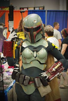 Female Fett Cosplay Albuquerque Comic Expo 2012 - Gallery here Image by Sal Galindo