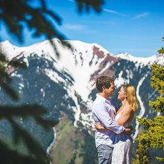 Yesterday was all about our couples in love 😍 #engagementphotos #bethexperience #aspenphotographer