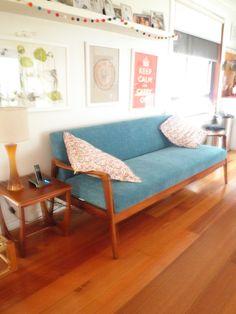 My turquoise beauty, great Australian Mid Century design!