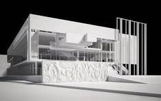 Flavio mangione - giuseppe terragni a roma architectural ske Architecture Model Making, Concept Architecture, School Architecture, Contemporary Architecture, Amazing Architecture, Architecture Details, Contemporary Museum, Landscape Architecture, Archi Design
