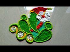 Ganesha chaturthi special design/unique and creative rangoli --------------------------------------------------------------------- Rangoli Designs Simple Diwali, Diwali Special Rangoli Design, Indian Rangoli Designs, Rangoli Designs Flower, Free Hand Rangoli Design, Small Rangoli Design, Colorful Rangoli Designs, Rangoli Designs Images, Flower Rangoli